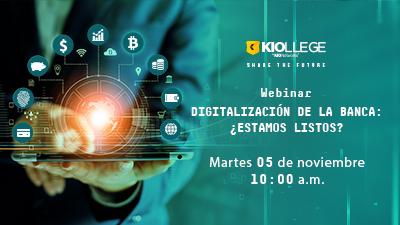 Imagen Webinar-Digitalización de la banca: ¿estamos listos?