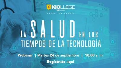 Imagen Webinar-La salud en los tiempos de la tecnología